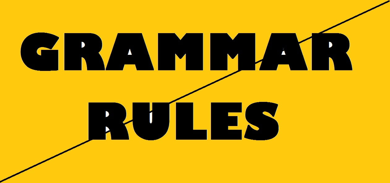 sat writing grammar rules